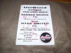 Bamber Bridge v Hyde United, 1996/97 [LCS]